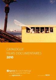 catalogue films documentaires 2010 - Le Mois du Film Documentaire
