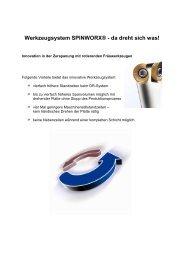 Werkzeugsystem ... - MS Spinex