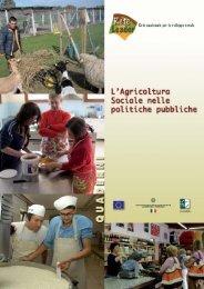 l'agricoltura sociale nelle politiche pubbliche - Fattorie Sociali