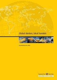Global denken, lokal handeln - CEP Research