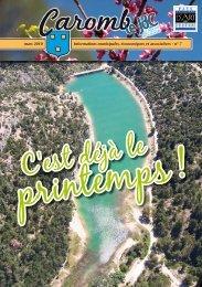 n° 7 mars 2010 - Ville de Caromb