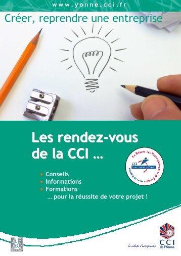 Plaquette rendez-vous_creation F033 - (CCI) de l'Yonne