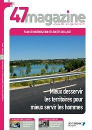 Mieux desservir les territoires pour mieux servir les ... - Lot-et-Garonne