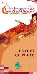 Carnet de route - Castagnades