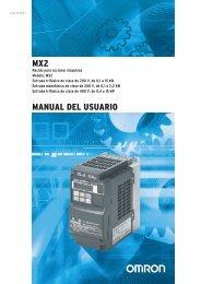 MX2 MANUAL DEL USUARIO - Carol Automatismos Igualada SA