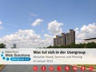 Download Präsentation - Opentext Usergroup