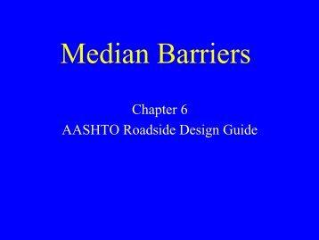 Median Barriers