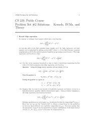 PS3 Solution (pdf) - CS 229