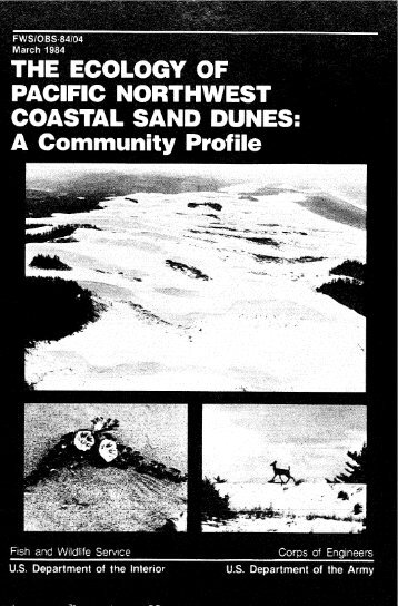 The ecology of Pacific Northwest coastal sand dunes