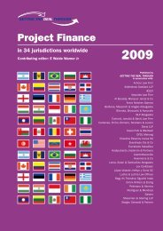 Project Finance - Luthra & Luthra