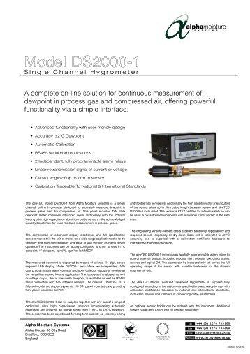 Model DS2000-1 - Brave Engineering Ltd.
