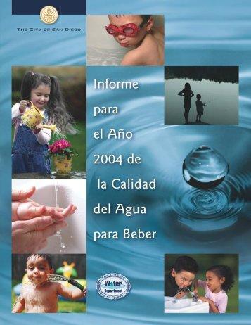 Nuestro Suministro de Agua - San Diego Health Reports and ...