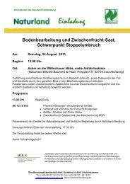 Weitere Informationen finden Sie hier! - Maschinenring Neustadt