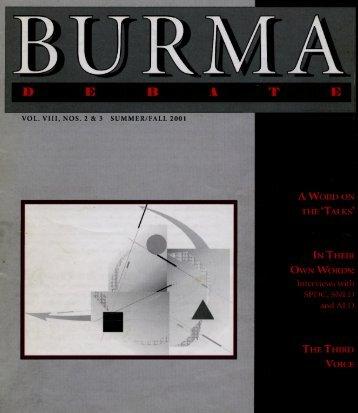 Burma Debate - Ashley South