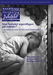 K149 original - Centrum för forskning om funktionshinder - Uppsala ...