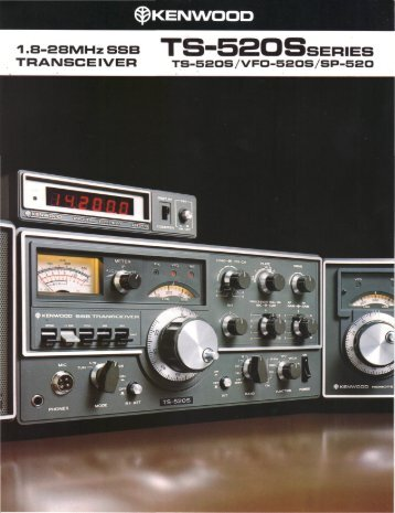 Kenwood TS-520S (Brochure) - WB4HFN Home Page