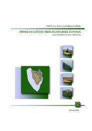 Program zaštite okoliša Istarske županije - Istarska županija