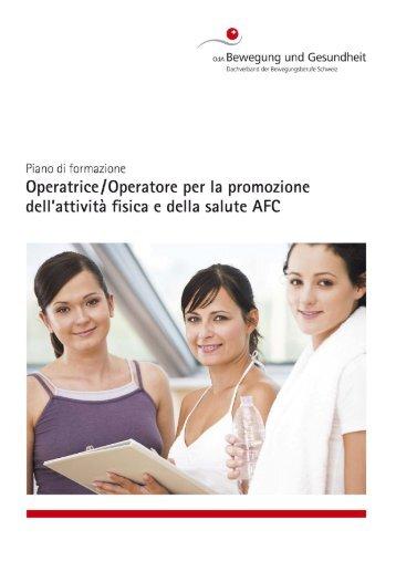 OML Attività fisica e salute Federazione svizzera delle professione ...