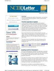 September - NCIDQ. National Council for Interior Design Qualification