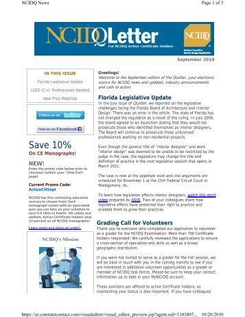 Certificate Verification Form Ncidq National Council