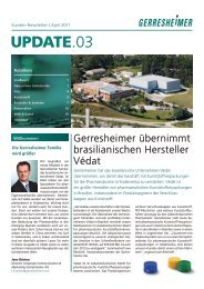 Download Update.03 | April 2011 - Gerresheimer
