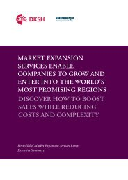 Executive summary 2011 - English (PDF, 0.54 M) - Marketexpansion ...
