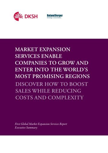 Executive summary 2011 - English (PDF, 0.54 M) - Marketexpansion ...