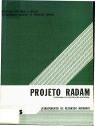 Projeto Radam - Programa de Integração Nacional - Antaq