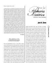 Artes plásticas en la revolución mexicana*