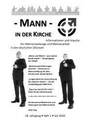 Mann in der Kirche 1/10 als pdf - Kirchliche Arbeitsstelle für ...