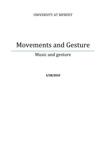 Music and the Aesthetics of Modernity