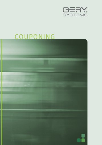 Couponing - GERY SYSTEMS GmbH