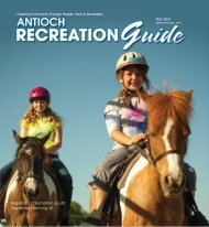 Click here to download the complete guide - City of Antioch