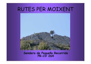 Sendero de Pequeño Recorrido PR-CV 264 [Modo de ... - Moixent