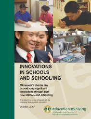 Innovations in School and School - Education Evolving