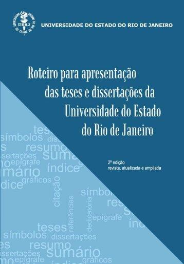 Roteiro para apresentação das teses e dissertações - Biblioteca ...