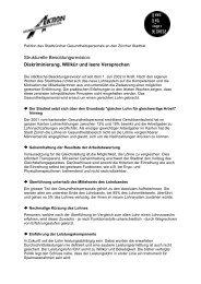 Petitionsbogen mit ausführlichen Erläuterungen - Über die AGGP