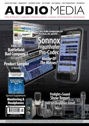 Sonnox - Audio Media