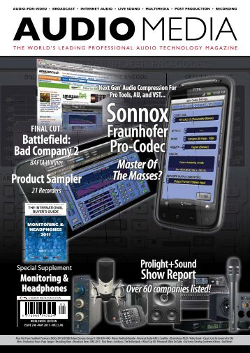 Sonnox - Audio Media