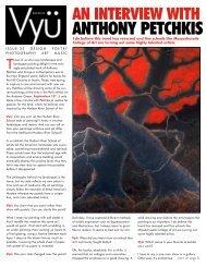 ANTHONY PETCHKIS - Vyu Magazine