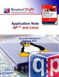 QP and Linux - Quantum Leaps