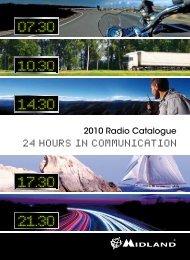 2010 Radio Catalogue - ALAN ELECTRONICS GmbH