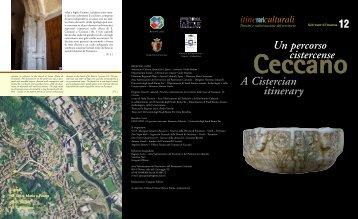 Scarica l'itinerario di Ceccano - Cultura Lazio