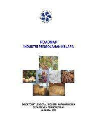 ROADMAP - Direktorat Jenderal Industri Agro