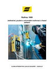 Railtrac 1000 - AB technika pro svařování