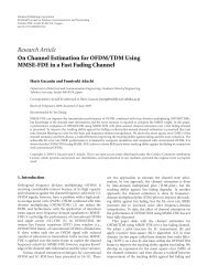 On Channel Estimation for OFDM/TDM Using MMSE-FDE in a Fast ...