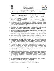 Tender Document Vavuniya General Hospita Colombo - High ...