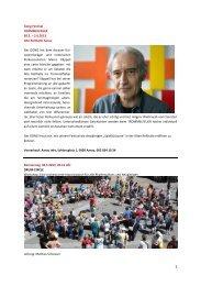 Gong-Festival TROMMELFEUER 30.5. – 2.6.2013 Alte ... - Gong Aarau