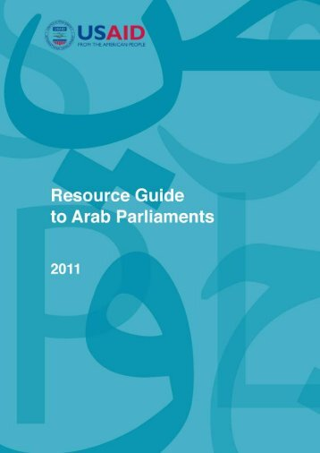 Resource Guide to Arab Parliaments - Center for International ...