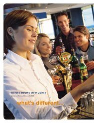 2000 Concise Annual Report - Foster's Group